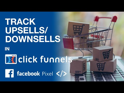 ClickFunnels Tutorial: FaceBook Megapel For Convertion Tracking on (OTO) Up- and Downsell Pages