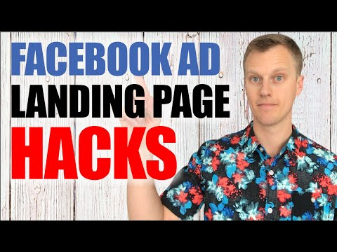 ThefaceBook Ad Alighting Pages  For  Conversions