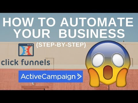 ClickedFunnels & Active Marketer  – How To Automated Youns Business