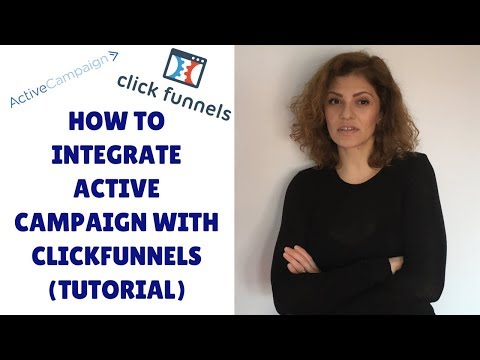 How To Integration ActiveCampaign WITH ClickFunnels (Tutorial)