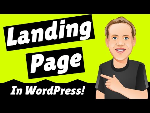 How to Create a Landing Page in WordCamp