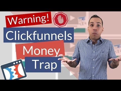 ClickFunnels! A  Waste-products-products Of Money? 😿