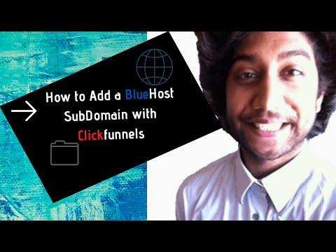 Creation and Integrated a Subdomains  BlueHost to Clicks – NEW 2020 #bluehost #Subdomainss
