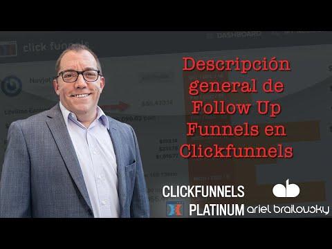 Descripción general de  Up  en Clickfunnels