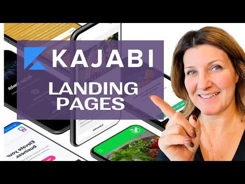 Kajabi  PaGe – NEW KAJABI PAGES 2020