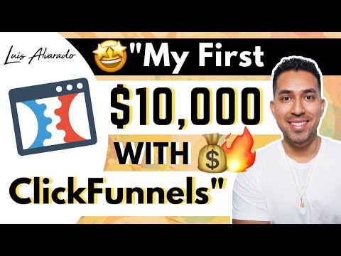 ClickFunnels  Programmable | How I Made My First $10,000 (Masterful  Funnel List REVEALED!)