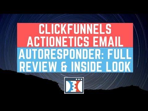 Clicks Actionetics Courriel Autoresponder:  Reviewinger & Inside Look