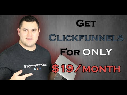 Clickfunnels Pricing  – How To Use Clickfunnels For O $19 A Month