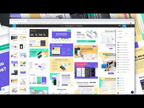 Figma web ReDesigning –  pages Cybrary 2.0 – WebSites  – Desktops & Mobile