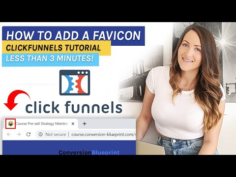 ClickFunnels: How to Add a Favicons in 2020