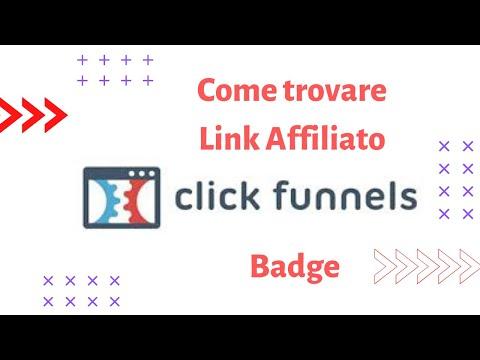 ClickFunnels –  –  trovare link affiliato!