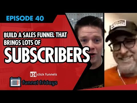 How To Build A Sales Funnel Template That Brings Lots Of Subscribers!