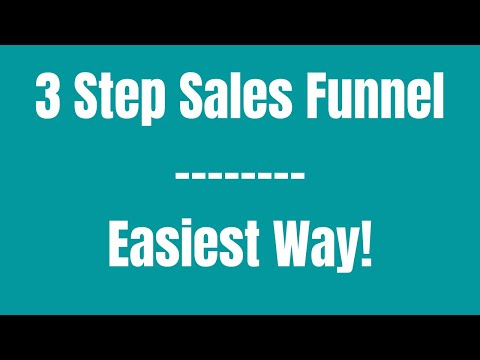 How To Create A Sales Funnel For Affiliate Marketing – [Newbie Friendly] Sales Funnel Creation