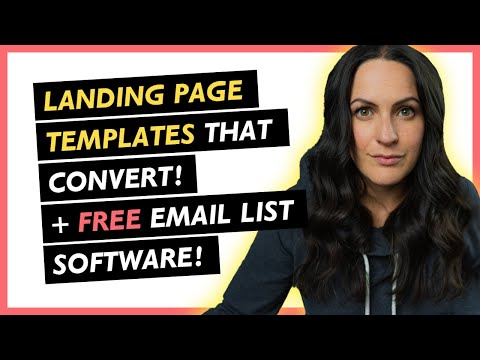 FREE LANDING PAGE BUILDER that will instantly increase email list! (no website required!)