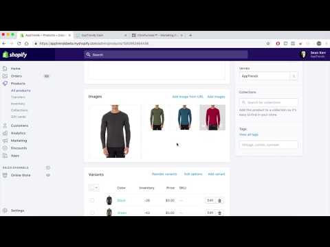 ClickFunnels Ecommerce – How To Add Variants, Quantity And Images + Order Into Shopify