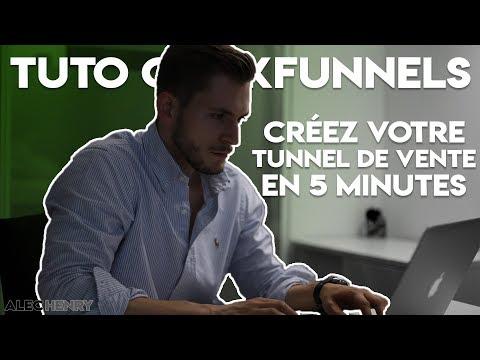 Je Vous Offre Un Tunnel de Vente Optimisé (Tutoriel ClickFunnels)