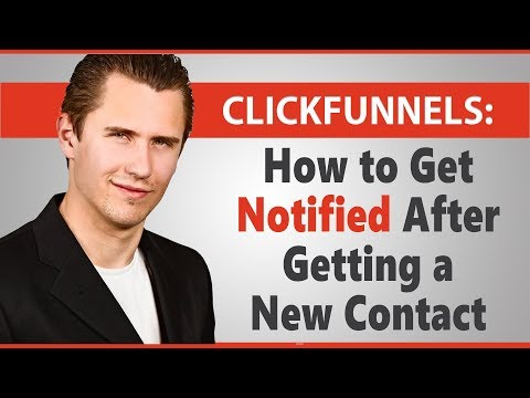 ClickFunnels: How to Get Notified via Email After Getting a New Contact (Using Zapier)