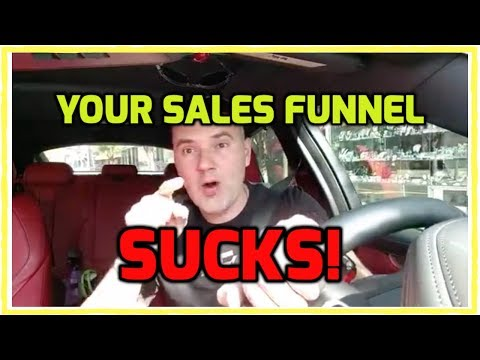 Sales Funnel Marketing 2019 – #1 REASON why YOUR CLICKFUNNELS  SUCKS!