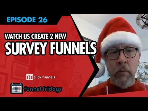"""Sales Funnel Examples –  Watch us Create 2 NEW """"Survey Funnels"""""""