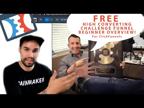 Challenge Funnel For Clickfunnels + Clickfunnels Tutorial and Training for Beginners