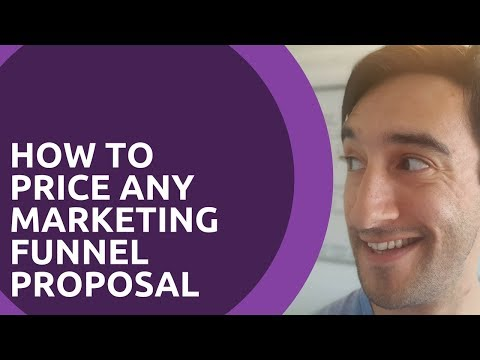 How To Price A Marketing Funnel Proposal