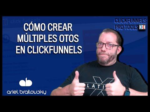 Cómo crear múltiples OTOs en Clickfunnels