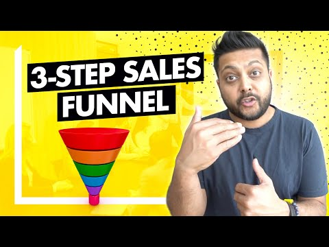 SaaS Sales Funnel in 3 Basic Steps (For an Early Stage SaaS Business)