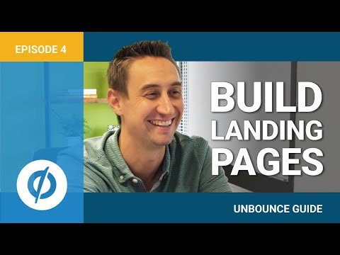 An Unbounce Screencast: How to Build Landing Pages for Your PPC Marketing. (Video 4 of 9)