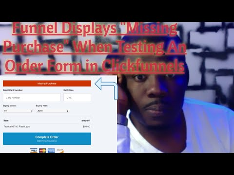 """Funnel Showing"""" Missing Purchase"""" In ClickFunnels"""