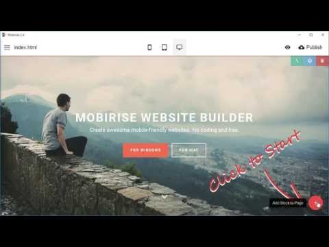 Extensions support – Mobirise Landing Page Creator v2.4