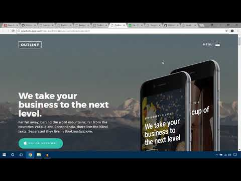 Best Free Bootstrap Landing Page Templates fully Responsive  – Built With HTML5 CSS3 Bootstrap
