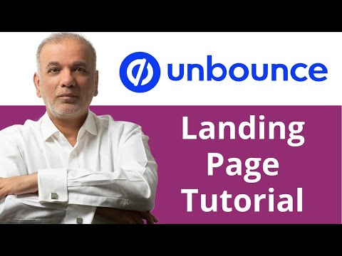 Learn Google Ads | How To Design & Create An Unbounce Landing Page For Google Ads