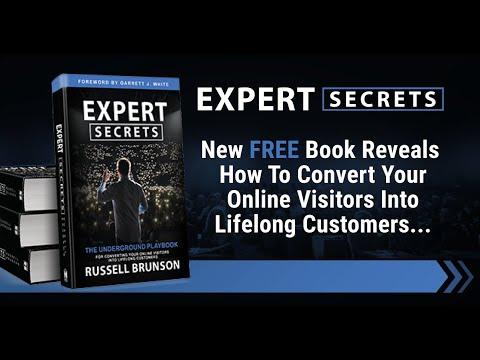 ClickFunnels Expert Secrets Book 2nd Edition Free Book!