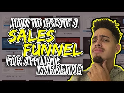 How To Create A Sales Funnel For Affiliate Marketing (Step by Step)