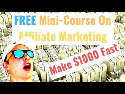 $1000 Affiliate Marketing Funnel Secrets 100% FREE Mini Course! (Clickfunnels & Funnelytics)