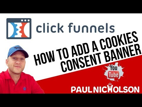 How To Add Cookie Consent Banner To Your ClickFunnels Pages