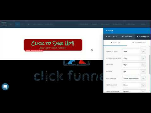 [ClickFunnels Page Editor] How to use the ClickFunnels button element