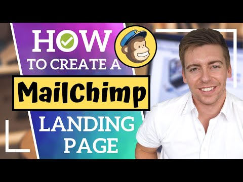 HOW TO CREATE A FREE LANDING PAGE | MailChimp Tutorial for Beginners (2020)