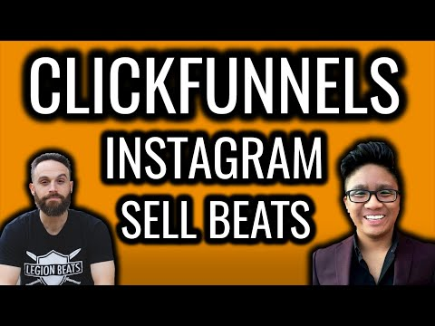How To Sell Beats Using ClickFunnels and Instagram (Legion Beats Secrets)