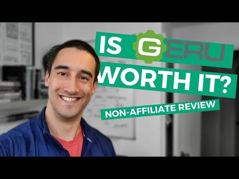 Geru review; marketing funnel tools