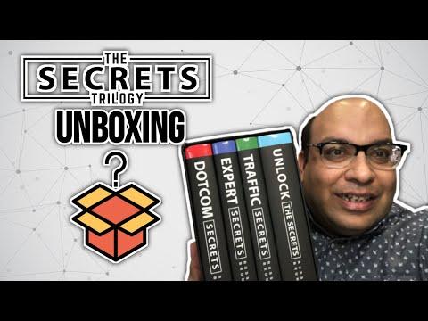 Clickfunnels: Traffic Secrets Trilogy Box Set Unboxing