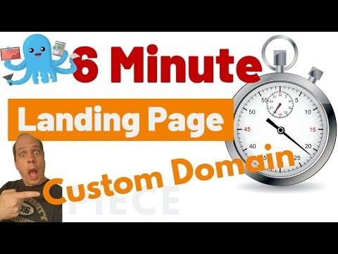 Create Builderall Landing Pages in 6 MINUTES with Custom Domain