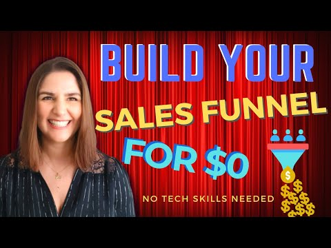 HOW TO BUILD A SALES FUNNEL WITH BUILDERALL – [FOR FREE]