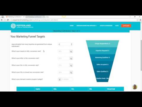 Marketing Contribution Calculator: How To Determine Your Marketing Funnel Targets