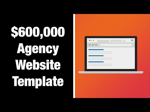 $600,000 Clickfunnels Automated Client Acquisition Agency Website Template