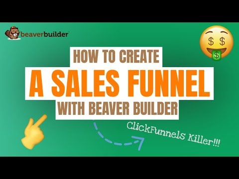 Beaver Builder Tutorial: How to Create A Sales Funnel with Beaver Builder