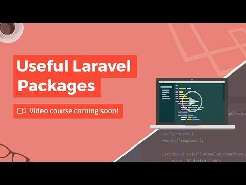 Useful Laravel Packages – Build Course Landing Page