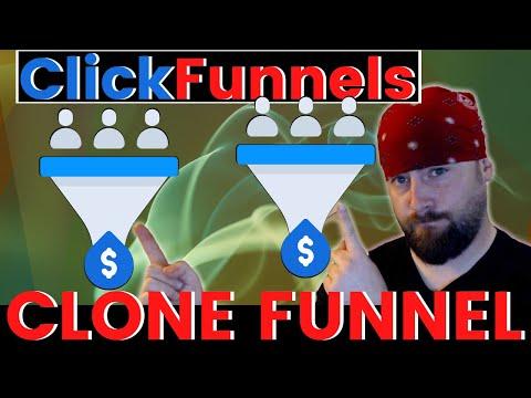 ClickFunnels How To Clone/Duplicate a Funnel in 2020