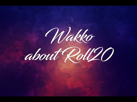 Wakko About Roll20   Episode 2 (Landing Pages)