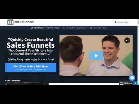 Clickfunnels Video Tutorials – Introduction to Clickfunnels – Part 1 of 13
